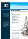 3000 Series - Blanket Gas Regulators – Brochure