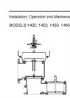 1400 - Pilot Operated Relief Valve w–Vacuum Breaker – Manual