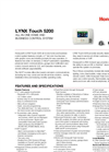 LYNX Touch - Model 5210 - Control System - Data Sheet