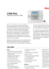 LYNX Plus Wireless Control Panel Data Sheet