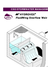Hydrovex - FluidWing Overflow Weir Profile Brochure