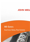 MI-Series Shaftless Spiral Fine Screens