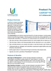 LumiCalc Data Analysis & Collaboration Software - Product Fact Sheet