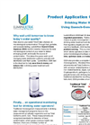 Application Overview - Water Treatment & Distribution