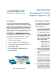 LuminUltra - Model QG21I™ - QuenchGone21 Industrial (QG21I) Test Kit - Brochure