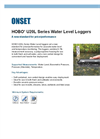 HOBO - Model U20L-002 - 100 ft Water Level Data Logger- Brochure