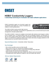U24 Conductivity Loggers Data Sheet