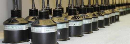 dB Transducer on the production line