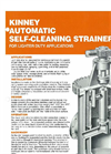 Kinney - AFW-1 - Automatic Self-Cleaning Strainer - Brochure
