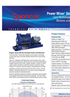 Power Mizer - Model 4000 - Cast Centrifugal Blowers Brochure