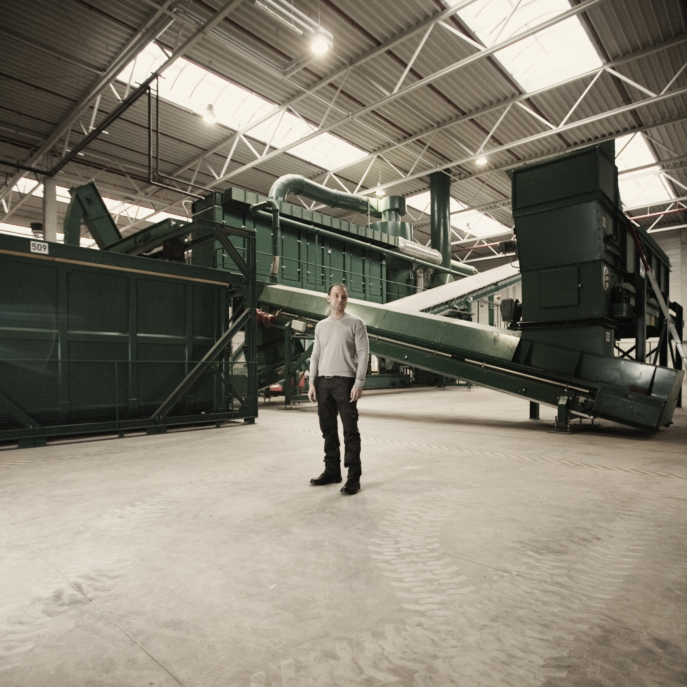 Technical description of a recycling plant-1