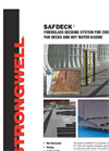 Strongwell SAFDECK - Fiberglass Decking System for Cooling Tower