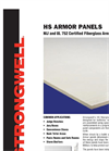 Strongwell - Model HS - Fiberglass Armor Panels - Brochure