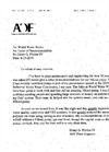 ADF Letter of Recommendation