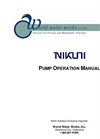 Nikuni - Pump Operation Manual