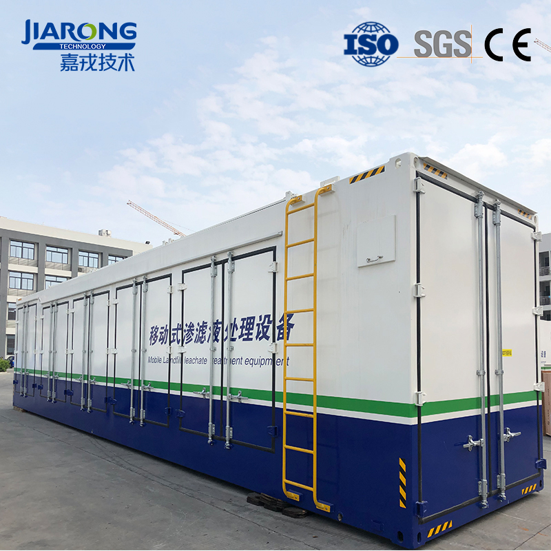 Customer`s Wastewater Treatment Equipment is Ready