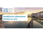 2017 World Water Week - Deadline for Submissions Jan 22