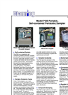 Model PSB - Portable Self Contained Peristaltic Fluid Samplers Brochure