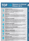 Top 10 Reasons to Attend Pittcon