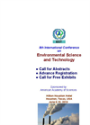 Call for Abstracts (International Conference on Environmental Science and Technology 2016)
