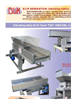 BLiK - 1500-500 TIBY Series - Vibrating Table Datasheet