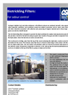 CSO - Bio Trickling Filters for Odour Control Brochure
