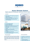 Commercial Rainwater Harvesting System Brochure