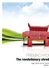 PREMAC Hydro - The Revolutionary Shredder – Brochure