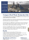 Food Waste Destruction Unit FDU60 Brochure