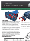 Model RP8 S7, RP8 S9, and RP8 P9 - Chain Lift Portable Compactor Brochure