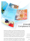 Fragrance Compliance Solution for Fragrances Industry - Brochure