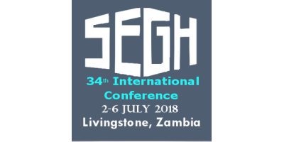 34th Geochemistry for Sustainable Development SEGH International Conference