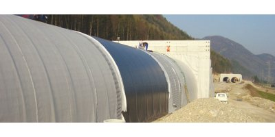 Geotextiles solutions for tunnel construction areas