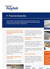 TenCate Polyfelt - Model P - Protection Geotextiles Datasheet