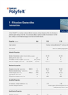 TenCate Polyfelt - Model F - Filtration Geotextiles Technical Datasheet