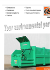Model F - Stamping Press Portable Compactor - Brochure