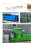 Short Static Waste Compactors Brochure