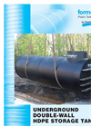 Single-Wall & Double-Wall Underground Tanks Brochure