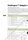 Adapter Guide Multivapor Brochure