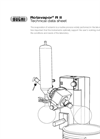 Rotavapor - Model R II - Standard Evaporation System Technical Data Sheet