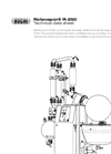 Rotavapor - Model R-250 - Industrial Evaporation Technical Datasheet