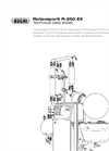 Rotavapor - Model R-250 EX - Industrial Evaporation Technical Datasheet
