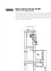 Model B-90 - Nano Spray Dryer Technical Datasheet