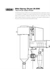 Mini Spray Dryer B-290 Technical Datasheet
