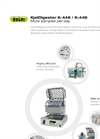 KjelDigester K-446/K-449 Block Digestion Process - Brochure