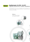KjelSampler K-376 / K-377 - Highest Productivity in Steam Distillation - Brochure