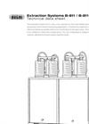 BUCHI B-811 / B-811 LSV Four Compliant and Versatile Extraction System - Technical Datasheet