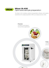 BUCHI B-400 Powerful Homogenization Mixer - Brochure