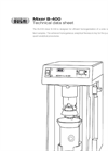 BUCHI B-400 Powerful Homogenization Mixer - Technical Datasheet