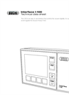 Interface I-100 - Technical Data Sheet